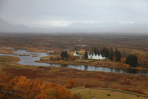evysinspirations:  Beautiful Fall Day at Þingvellir National Park, Iceland by christine zenino on Flickr.