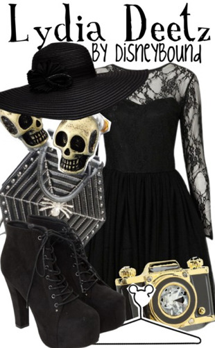 disneybound:  HALLOWEEN RULE BREAKER! Buy it here!  I absolutely love everything about this!!!