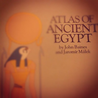 Who knew i wrote a book on ancient egypt