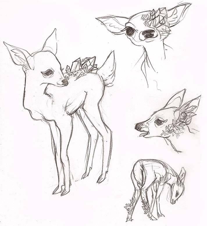 foxery:  coming soon: crystal fawns