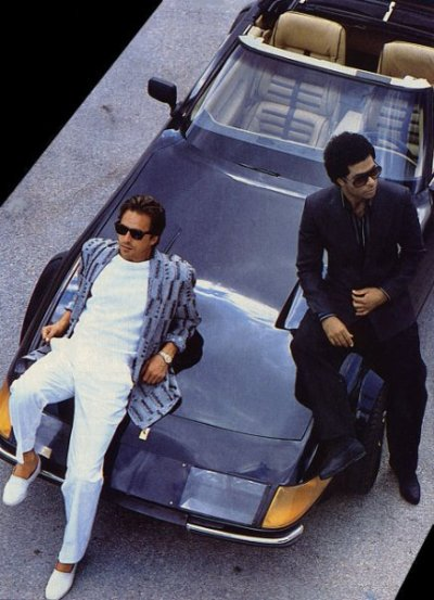 Miami Vice, SWAG before there was SWAG.