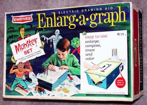 Enlarg-A-Graph - Monster Set (1966)
