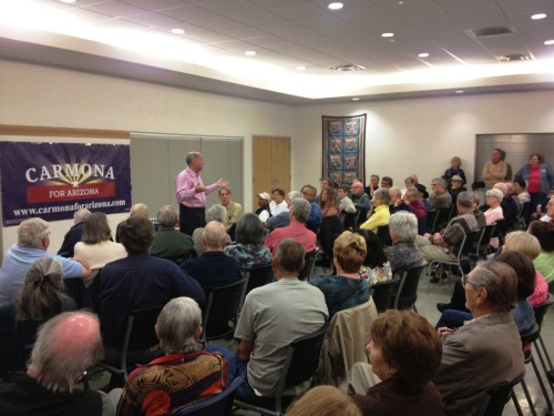 Townhall event in Flagstaff. Great turnout!