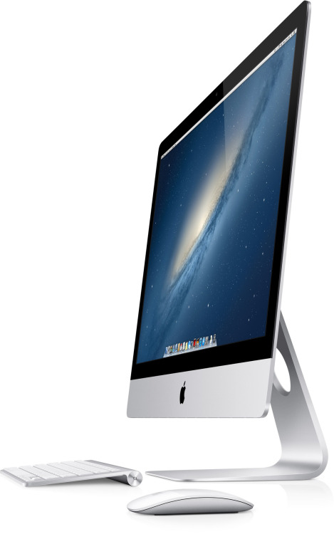 untitled-mag:  Brand new crazy thin iMac.