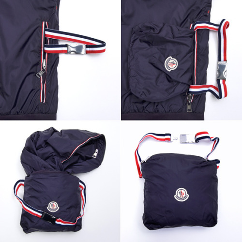 Moncler packable bomber jacket