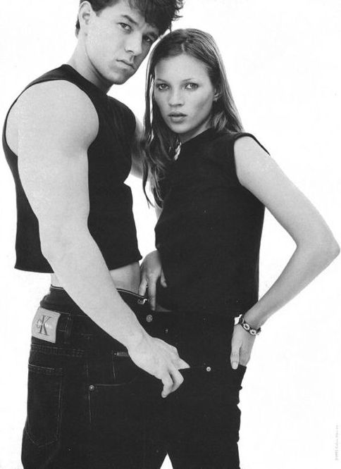 tat-art:  Mark Wahlberg and Kate Moss for Calvin Klein