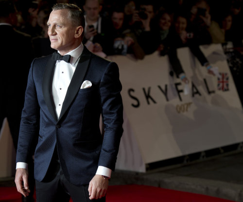 Daniel Craig attending the premiere of the latest James Bond film Skyfall on Tuesday October 23 at Royal Albert Hall in London, England.