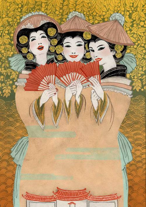 art-and-fury:  The Mikado - Yuko Shimizu