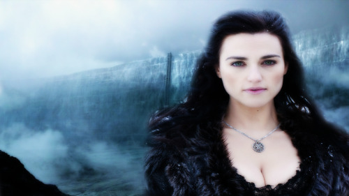 Morgana as a watcher on the wall.