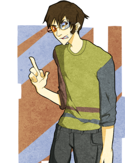 vriskatkind:  human sollux with blue and red braces is actually perfect?? ?