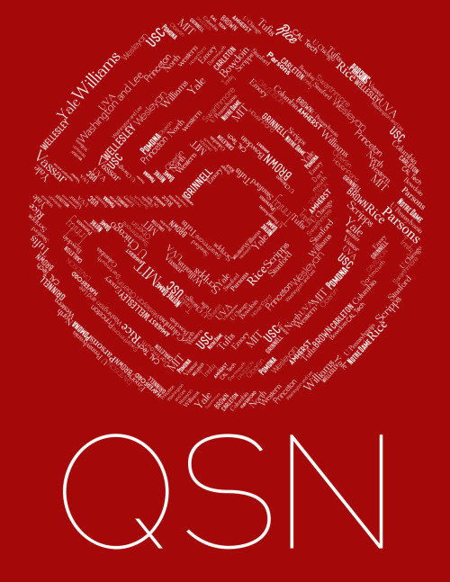 T-shirt design for QSN logo