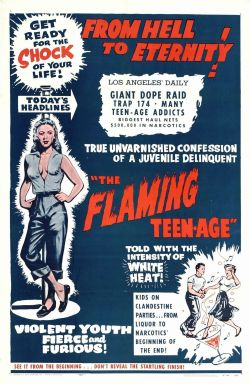 The Flaming Teenage (1956) - IMDb Available as a T Shirt design starting at $10.55 US, from; http://vulturegraffix.onlineshirtstores.com Online Mail Order T Shirts