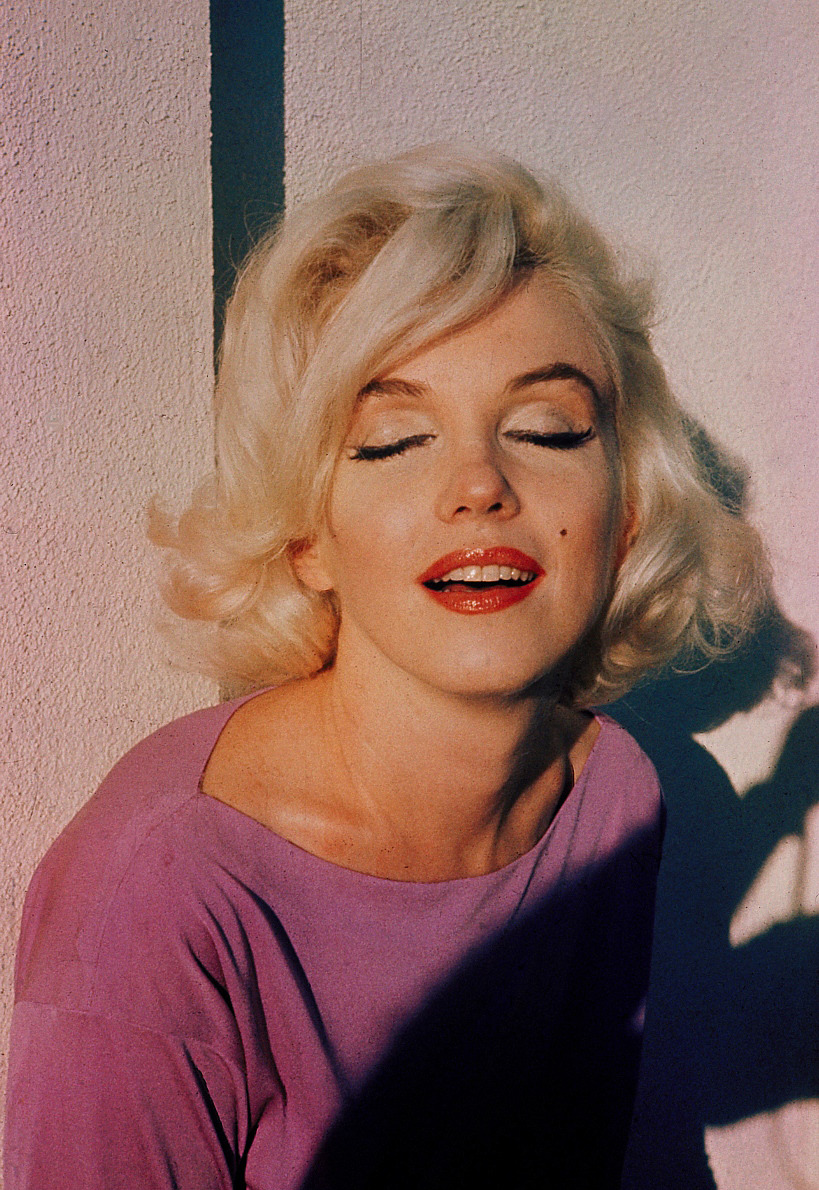 Marilyn Monroe by George Barris, June 29th 1962