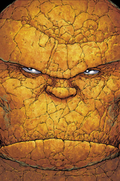 westcoastavengers:  The Thing by Adam Kubert