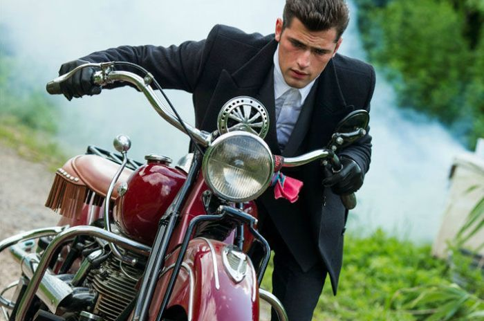 Sean O'Pry by Jim Krantz for M Magazine
