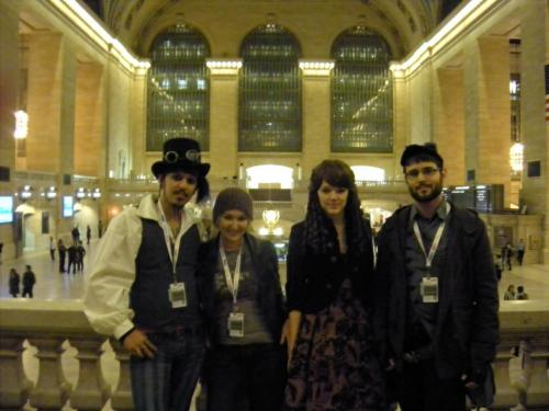 ^My friends and I being touristy and getting a photo at Grand Central just before leaving NYC and NYCC. This past weekend at AAC (Another Anime Con):   Can't wait to complete this cosplay! I very much enjoy this outfit.