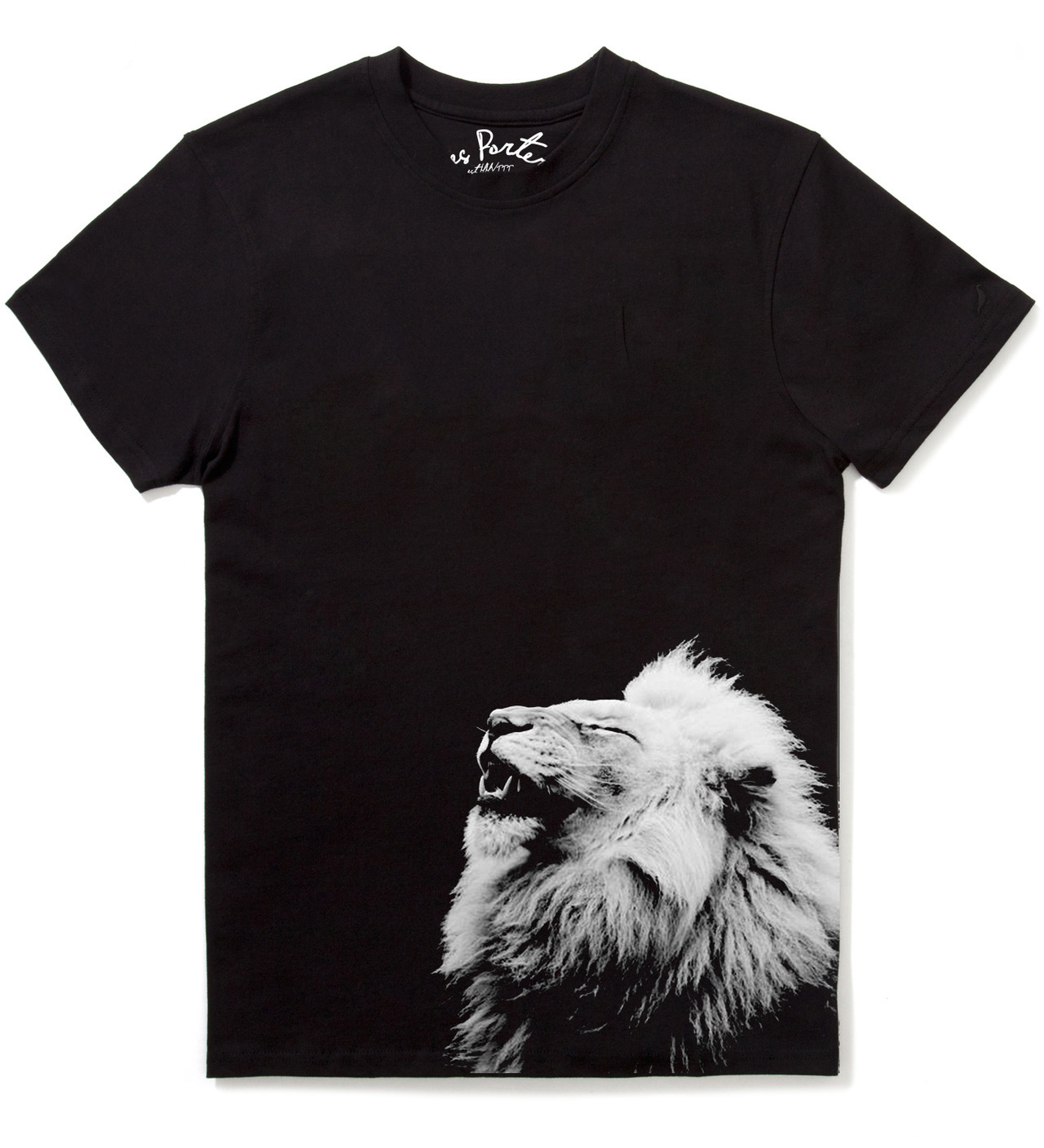 "ricksdesigns:  Les Porter ""lion"" Tee. arriving early 2013! designed by Me.   sick"