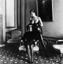 organization:  Parlor Games, Munich, 1991Helmut Newton