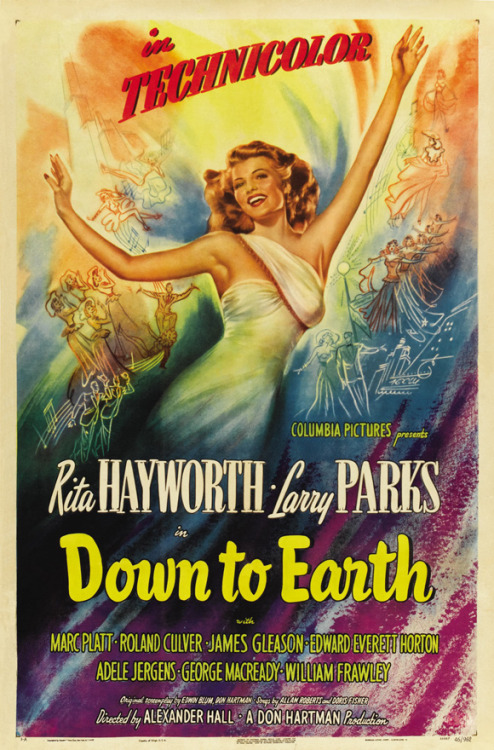 down to earth with rita hayworth