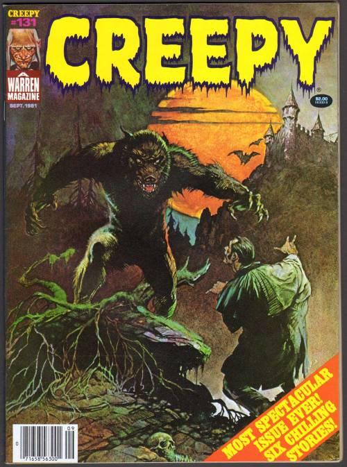 comicbookcovers:  Creepy #131, 1981  Any issue of Creepy is a good issue.