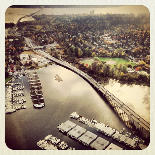 SR 520 Floating Bridge, Portage Bay / Lake Washington, Seattle © Copyright 2012 Ryan Hastings