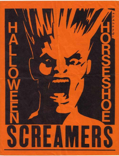 Screamers, Halloween 1978. Image by Gary Panter. #Halloween