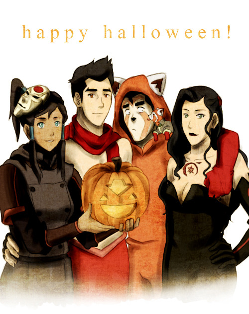 eragonns:  sherbeeee:  yes i know it's not halloween yet but WHATEVER (i'll probably reblog this on halloween night or something. just fyi)  is that mermako is that asami as lust