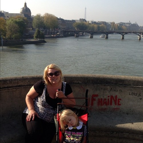 @shoefreak302 & Gem at Pont Neuf (Bridge Nine) (at Pont Neuf)