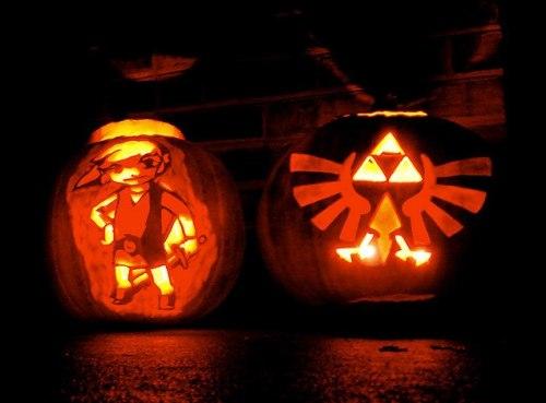 Pumpkin carvings on tumblr