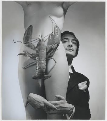 1950sunlimited:   Dream of Venus, 1939 Salvador Dali  deep space daguerreotype   And I thought crabs were bad…