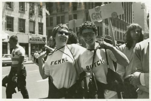 bobster855:  Photo taken at the very first gay pride march, June 1970, New York City. Photo by Kay Tobin Lahusen.