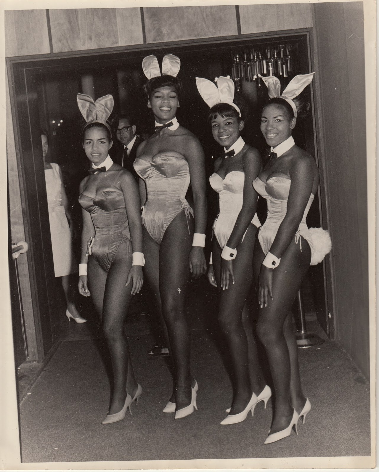 I love me some Black playboy bunnies! (via Vintage Sleaze)