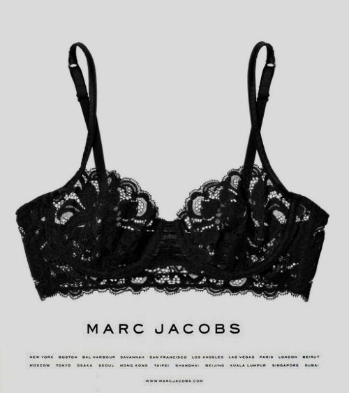 kkkrissy:  Marc Jacobs  Looks like a Rorschach test…