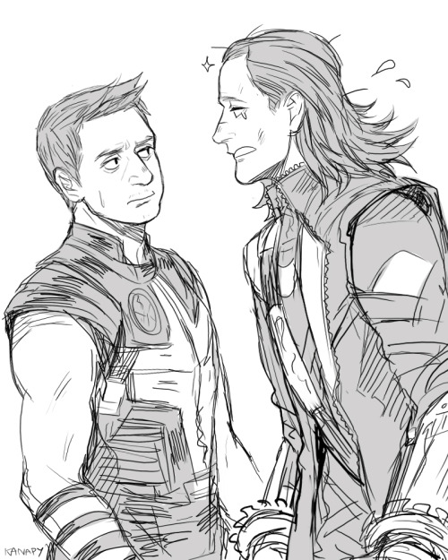 "kanapy:  "" Agent Barton! Can you remember? when we were together. """