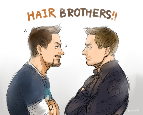 kanapy:  Hair Brothers!! XD