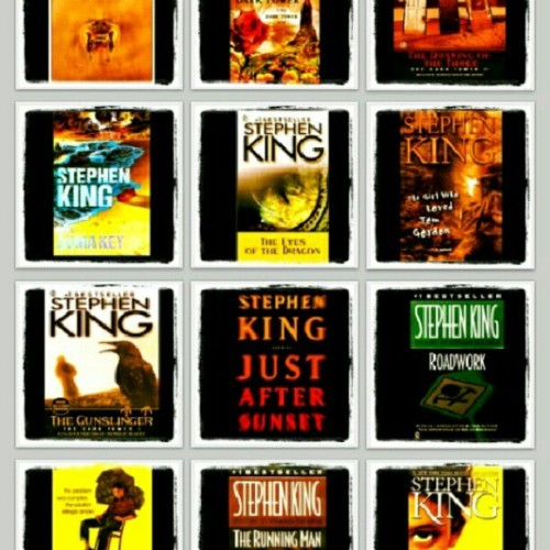 ALL 12 BOOKS BY STEPHEN KING FOR Php100 ONLY! Yey! :D  Hurry! Email me now!   *in mobi formats only  #ebooks #forsale #ebooksforsale #cheap #fiction #instagram #igersmanila #followstagram #igers #bestseller #newyorktimes #novel #promo
