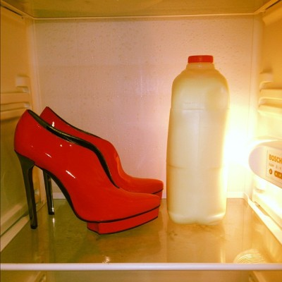 Heels so hot - we keep them in the fridge. Courtesy of Lanvin.