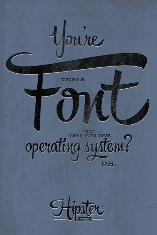 "This is a font called Hipster Script.  It is annoyingly attractive.  Source: ""betype.co""."
