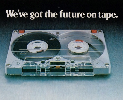 The future on tape!