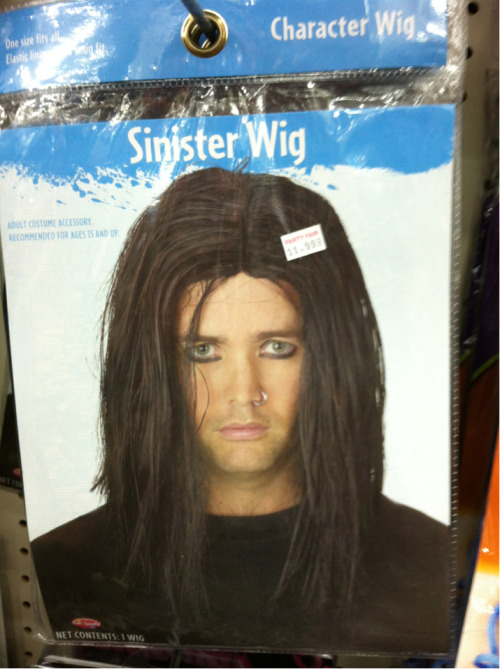 "Halloween Costume Suggestion #3: the ""Sinister"" look"