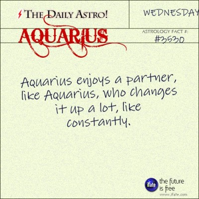 Aquarius 3530: Check out The Daily Astro for facts about Aquarius.Click here for a free tarot reading :)
