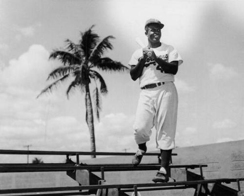 "upnorthtrips:  Jack Roosevelt ""Jackie"" Robinson (January 31, 1919 – October 24, 1972)"