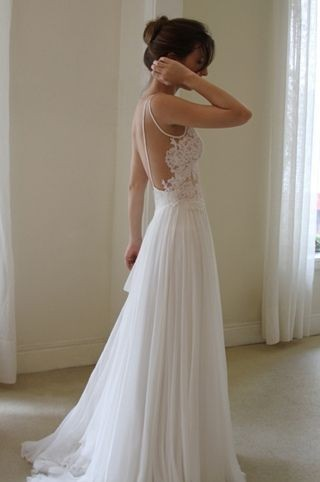 Is it too early to say?  O well, I think I found my wedding dress.