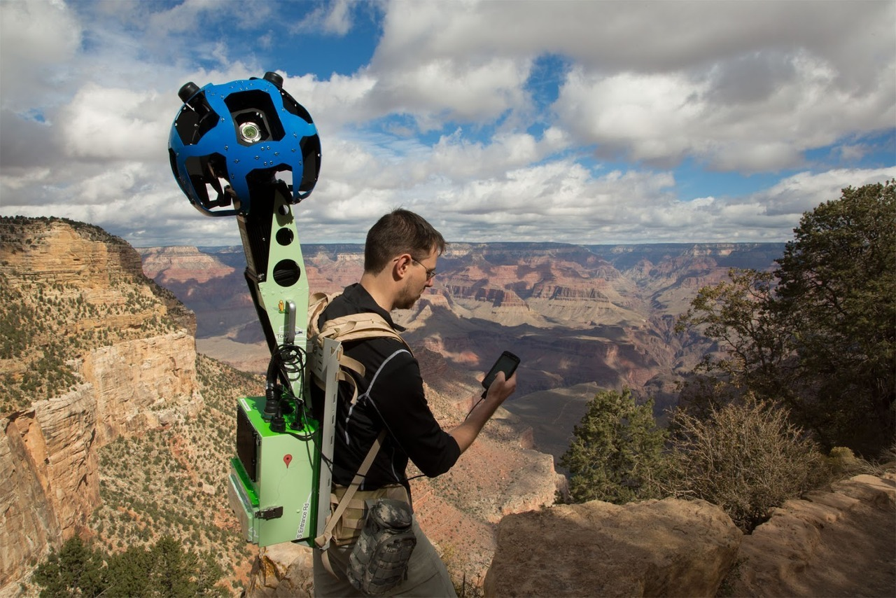 What's it like to trek the Grand Canyon for Google Maps? Find out.