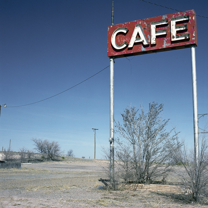 Café New Mexico. By Phil Bebbington.