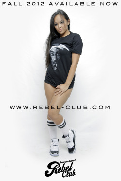 AVAILABLE NOW! International Rebel Club Fall capsule 2012 available online and select retailers. @rebelclubbrand