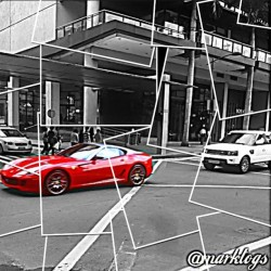 i was ..  PORSCHE ☺ #porsche #car #sportscar #red #cars #ayala #makati #philippines #race #racing #carracing #carshow (at Glorietta 5)