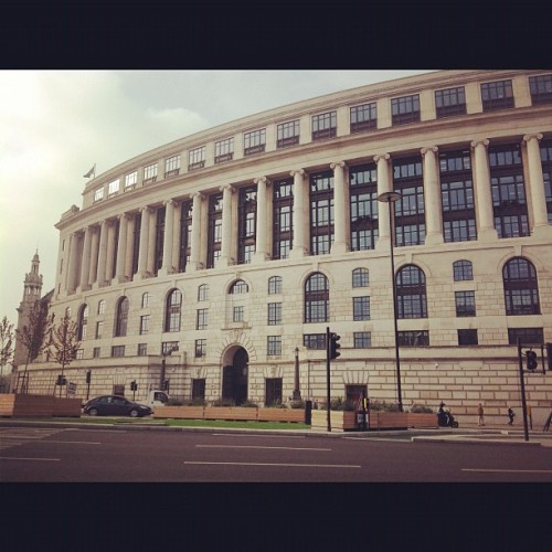 Funny how buildings take on different meanings in our life (at Unilever House)