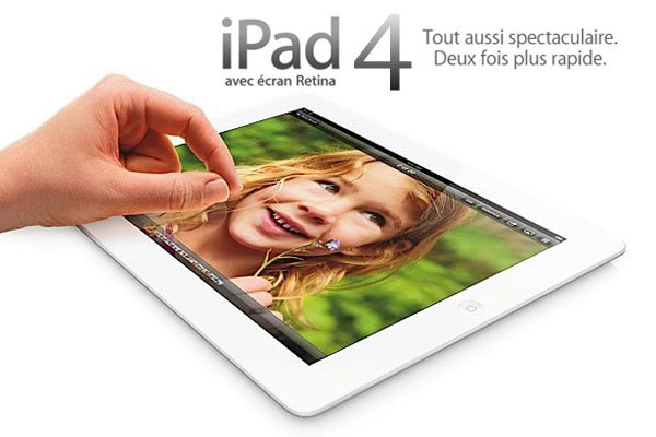 Here's the New iPad 4 with A6X CPU, FaceTime HD, LTE