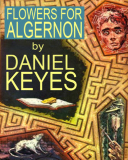 Flowers for Algernon by Daniel Keyes Completed 24 October 2012 I red this book and it made me angrey how pepul made Charlie tink they was his best frend but when he got smarter after the doktors did a oprashun, he fund out they was all laffing at him cos he was retarded and wernt his frends at all. Charlie was been made use of so pepul culd feel beter aboot themselfs. No one loved him, not Fay who used him cos she was bored or Alice who felt risponsble for his fate. It showd me a mean, cinical reflecshon of society as a bunch of morons who are entirly self intrested and are kind only when they stand to gaine somfink. But I liked the storey espesully wen Charlie descovers himself and his family. It made me tink and feel. Tinkin is alrite but its hard to find storeys that make you feel.